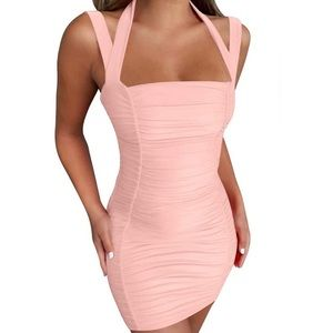 Sexy Halter Bodycon Dress